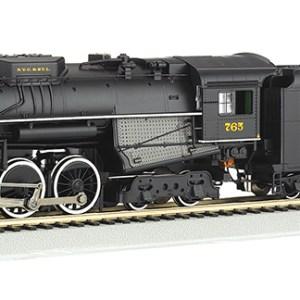 Bachmann HO Nickel Plate #765 2-8-4 Berkshire Rail Fan DC/DCC 50906