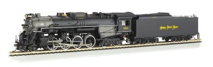 Bachmann HO Nickel Plate #759 2-8-4 Berkshire DC/DCC Sound 52404