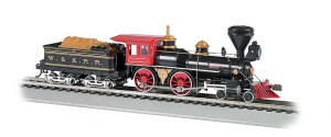 Bachmann HO W&ARR The General American 4-4-0 DCC Sound Value