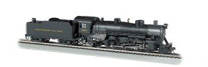 Bachmann HO Baltimore & Ohio B&O #5213 4-6-2 Light Pacific W/Sound 52801