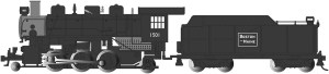 Bachmann HO Boston & Maine #1501 2-6-2 Prairie With Smoke 51530