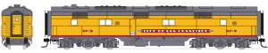 Broadway Limited 5405 HO EMD E6 B Unit UP/C&NW SF-6 P3 Sound