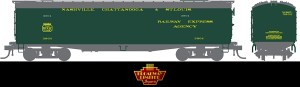 Broadway Limited 1860 HO Nashville Chattanooga St. Louis 53'6″ Reefer ~ 2 Pack