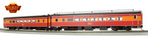 Broadway Limited 1766 HO SP Daylight Articulated Chair Passenger Cars #2481