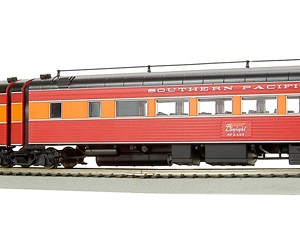 Broadway Limited 1581 HO SP Daylight Articulated Chair Passenger Cars #2470