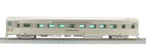 Broadway Limited New 2018 HO Scale Zephyr CB&Q 16 Sleeper #401 Silver Larch 1518