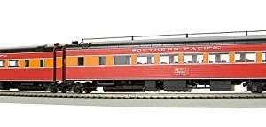 Broadway Limited 1771 HO SP Daylight Articulated Chair Passenger Cars #W2462/M2461