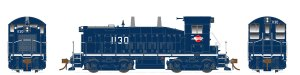 Rapido HO SW1200 Missouri Pacific #1181 Type A Trucks DC 27039