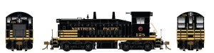 Rapido HO SW1200 Northern Pacific #128 Type A Trucks DC 27043
