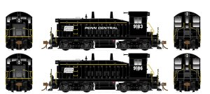 Rapido HO SW1200 Penn Central #9183 Flexicoil ESU LokSound DCC 27549