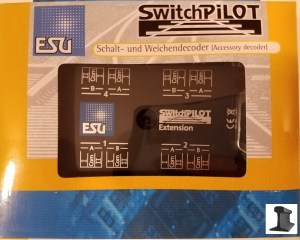 ESU 51801 SwitchPilot Extension 4 x Relay Output For SwitchPilot V1.0