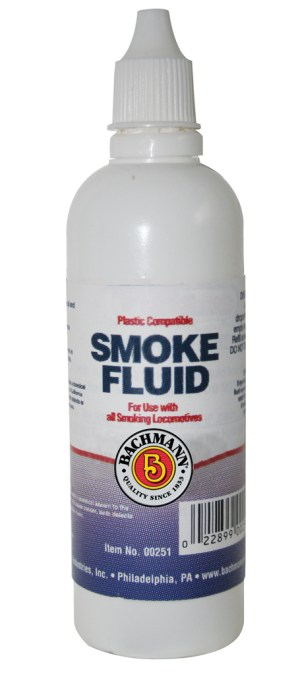 Bachmann Smoke Fluid ~ Plastic Compatible ~ For All Smoking Locomotives