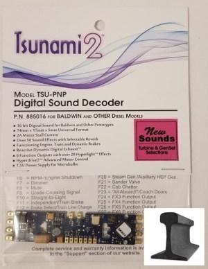 Soundtraxx Tsunami 2 TSU-PNP Baldwin, Turbine & Genset Sound Decoder V1.2 885016