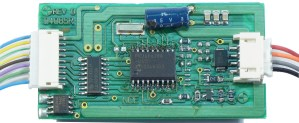 NCE D408 DCC Decoder 4 Amp, 9 Functions ~ S, O, G, LGB, Large Scale
