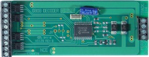 NCE D808 DCC Decoder 8 Amp, 8 Functions ~ 30 Amp Stall ~ Large Scale