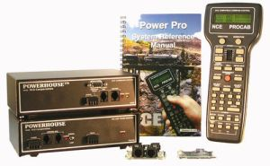 NCE Power Pro PH-Pro 10 Amp Starter Set 524-006 ~ Includes D408SR Decoder 0006