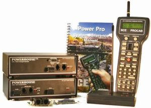 NCE Power Pro PH-Pro Wireless Radio PH10-R 10 Amp Starter Set 524-007~ Includes D408SR Decoder
