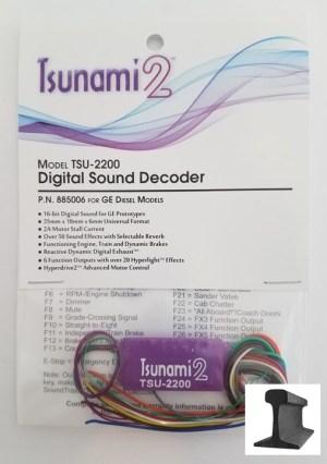 Soundtraxx Tsunami 2 ~ TSU-2200 Diesel Sound Decoder ~ 885006