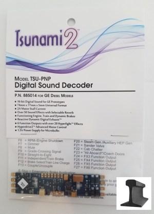 Soundtraxx Tsunami 2 TSU-PNP GE Diesel Sound Decoder ~ 885014