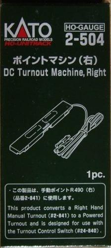 Kato HO UniTrack DC Turnout Machine Right Hand (1 pc) 2-504