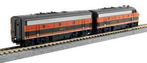 Kato N Scale F7 AB Set ~ Great Northern 444C & 444D ~ Both Powered DCC Ready ~ 1060421