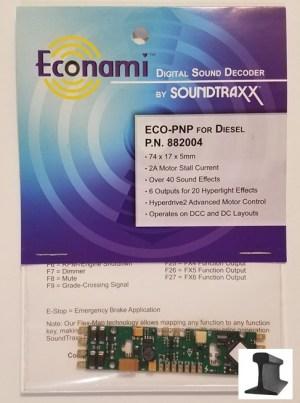 Soundtraxx Econami ~ ECO-PNP Diesel Sound Decoder ~ 882004