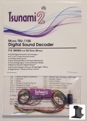 Soundtraxx Tsunami 2 ~ TSU-1100 GE Diesel Sound Decoder ~ 885002