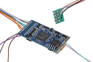 ESU 58420 LokSound V5.0 DCC ~ Blank Decoder ~ 8 Pin NEM652 ~ With Sugar Cube Speaker