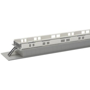 Kato N Scale UniTrack Platform DX Edge Barriers With Doors Set 23-163