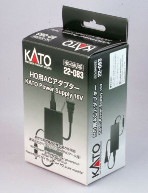 Kato AC Adapter Power Supply For Power Pack Standard SX or Smart Controller ~ HO Scale 22-083