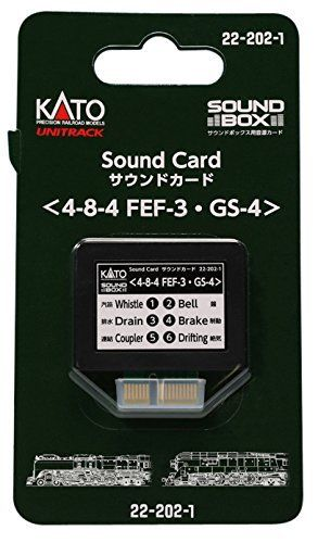 Kato FEF-3 / GS-4 Heavy Steam Soundcard for Sound Box 22-202-1
