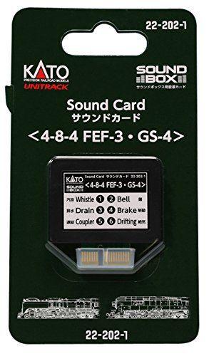 Kato FEF-3 / GS-4 Heavy Steam Soundcard for Sound Box 22-202-1