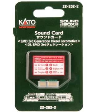 Kato 3rd Generation EMD Diesel SD90 / SD70 Soundcard for Sound Box 22-202-2