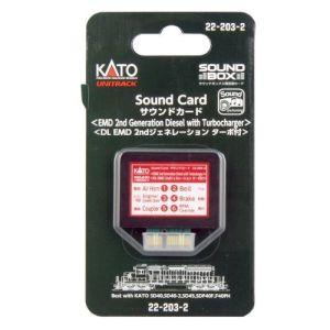Kato EMD 2nd Generation Diesel w/ Turbocharger Soundcard for Sound Box 22-203-2