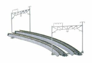 Kato N Scale UniTrack Double Track Catenary Poles (8pcs) 23-060