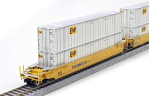 Kato HO EMP 53′ Container (2 Pack) 309022