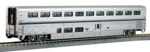 Kato HO Scale Amtrak Superliner I Coach Phase VI #34030 ~ 356055