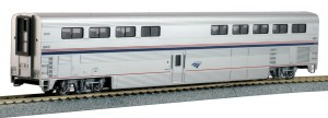 Kato HO Scale Amtrak Superliner I Diner Phase IV #38021 ~ 356073