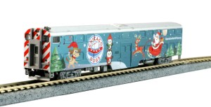 Kato N Operation North Pole Christmas Train F40PH 6pcs With Bookcase 106090