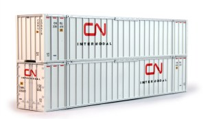 Kato HO CN Canadian National 53′ Container (2 Pack) 309027