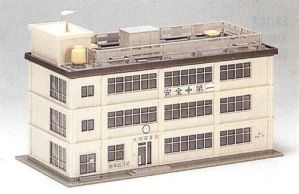Kato N Scale UniTrack Industrial Building 23-310
