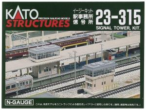 Kato N Scale UniTrack Station & Signal Towers 23-315
