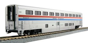 Kato HO Scale Amtrak Superliner Sleeper Phase III 6#'s ~ 356082