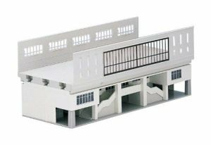 Kato N Scale UniTrack Double Track Viaduct Station Entrance 23-230