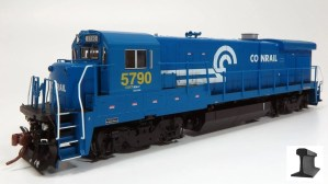 Rapido HO GE B36-7 CR Conrail CSXT Patch #5787 ESU LokSound 18514