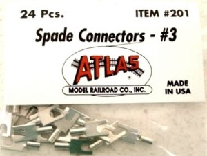 Atlas #3 Spade Connectors (24 pcs) 201