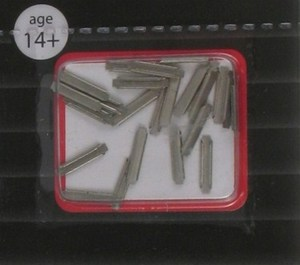 Atlas N Scale Code 65 True-Track Metal Rail Joiners (24 pcs) 2490