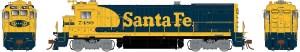 Rapido HO GE B36-7 ATSF Santa Fe #7488 ESU LokSound 18501