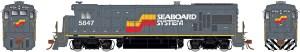 Rapido HO GE B36-7 SBD Seaboard System #5925 ESU LokSound 18535