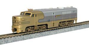 Kato N Scale Alco PA-1 Santa Fe Goldbonnet ATSF 53L DCC Ready 176053L